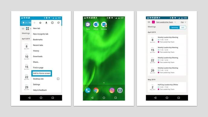 mobile view screen shots-1